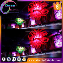 Hot sale inflatable star,party led inflatable star, lighting star outdoor valentine decorations