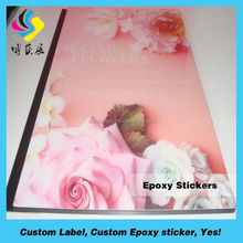 2012 new design epoxy sticker