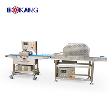 automatic fresh goat chicken meat cutting machine