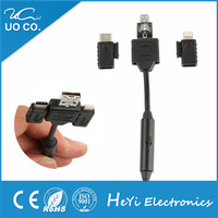 high speed 3 in 1 type c mirco I5 usb data cable