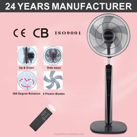 FS-40RC(5) electric stand fan plastic standing fan with remote control