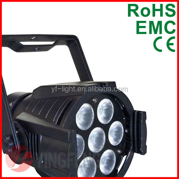 7x8w high brightness high power led stage lighting
