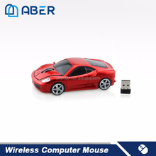 2.4Ghz Car Shape Mouse RoHS Mini OEM Wireless Mouse