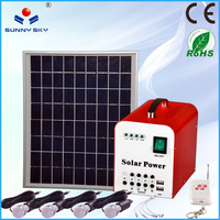 portable dc power solar energy product solar panel kit in China for home