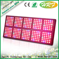 High quality 600W full spectrum 380-840nm led grow light for indoor plant cultivation