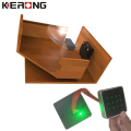 Smart signal light output electronic drawer lock