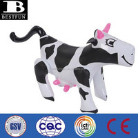 promotional customized pvc inflatable cow plastic milk cows vinyl decorative cows