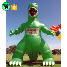 Giant inflatable lizard , huge inflatable dinosaur , large inflatable monster ST634