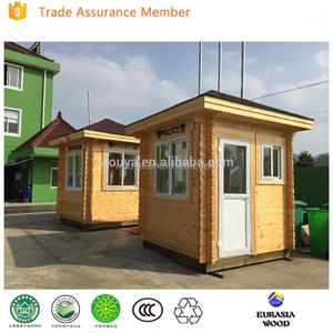 2017 wood booth security guard booth Security Booth guard house for sale