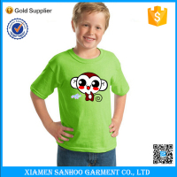 Summer Clothes Short Sleeve Children Tshirt Plain Wholesale With Cartoon Printing
