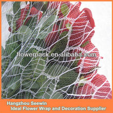 Leaves Mesh Flower Wrapping