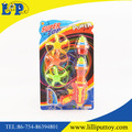 Colorful super power spining top gun with light