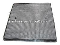 EN124 C-250 Ductile iron cast square cover