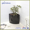 High quality Home Garden Plastic Hanging Planter With Iron Chain (GS1)
