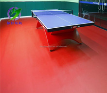 PVC sports floorings table tennis court flooring, indoor table tennis floor mat