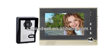 4.3 inch video door intercom with door release