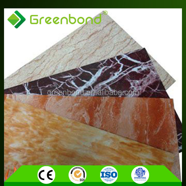 Greenbond marble finish acp exterior wall covering