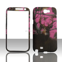 New Arrival Decal Water Printing Hard PC case for Samsung galaxy note2 N7100