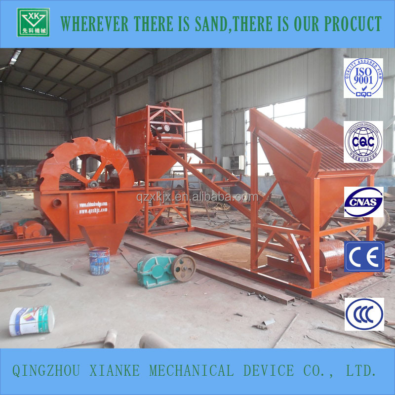 80t/h sharp sand cleaning & washing machinery sales