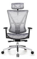 high end grey science color office supplied mesh chair with wheels