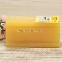 OEM Rich Foam Hard Solid Cloth Washing Soap Type Yellow Laundry Bar Soap