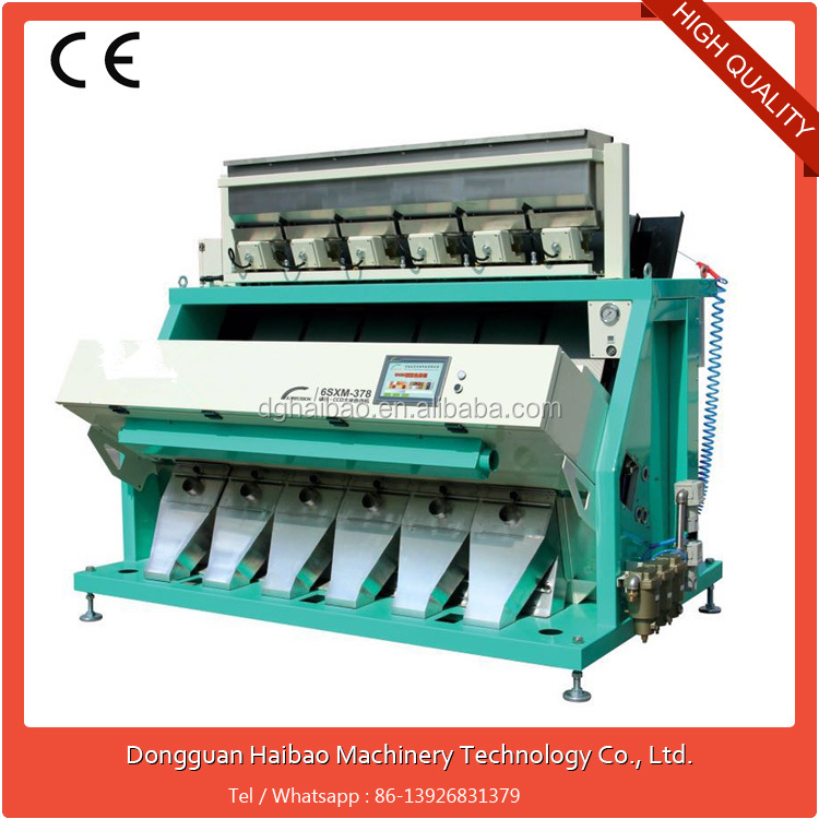 High Speed Automatic Cards high-tech color sorting machine shipping from china
