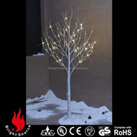 led twinkling stars christmas decorations white birch trees for sale