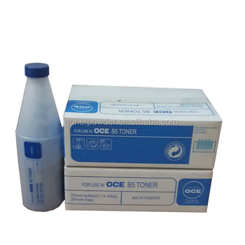 Hot sale blue OCE B5 toner for use in TDS300 320 400 450 600 700 750 9600 OCE9300 9400 9400II PW300