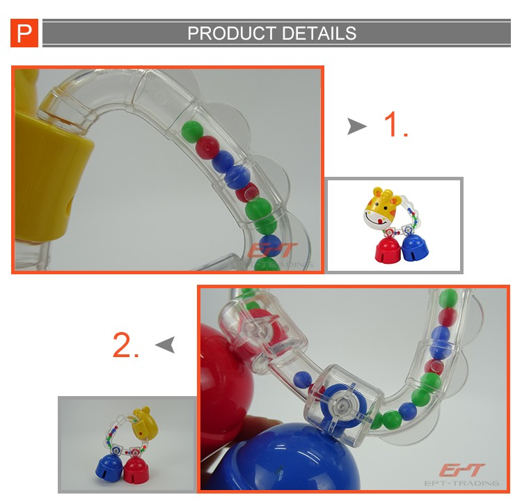 Eco-friendly cartoon giraffe plastic baby rattle toy for baby.jpg