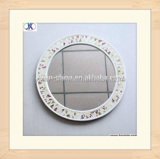 2016 Oval Romantic Glass Mosaic Mirror/Wall Decor/Beauty /Dressing /Bathroom Mirror For Decor