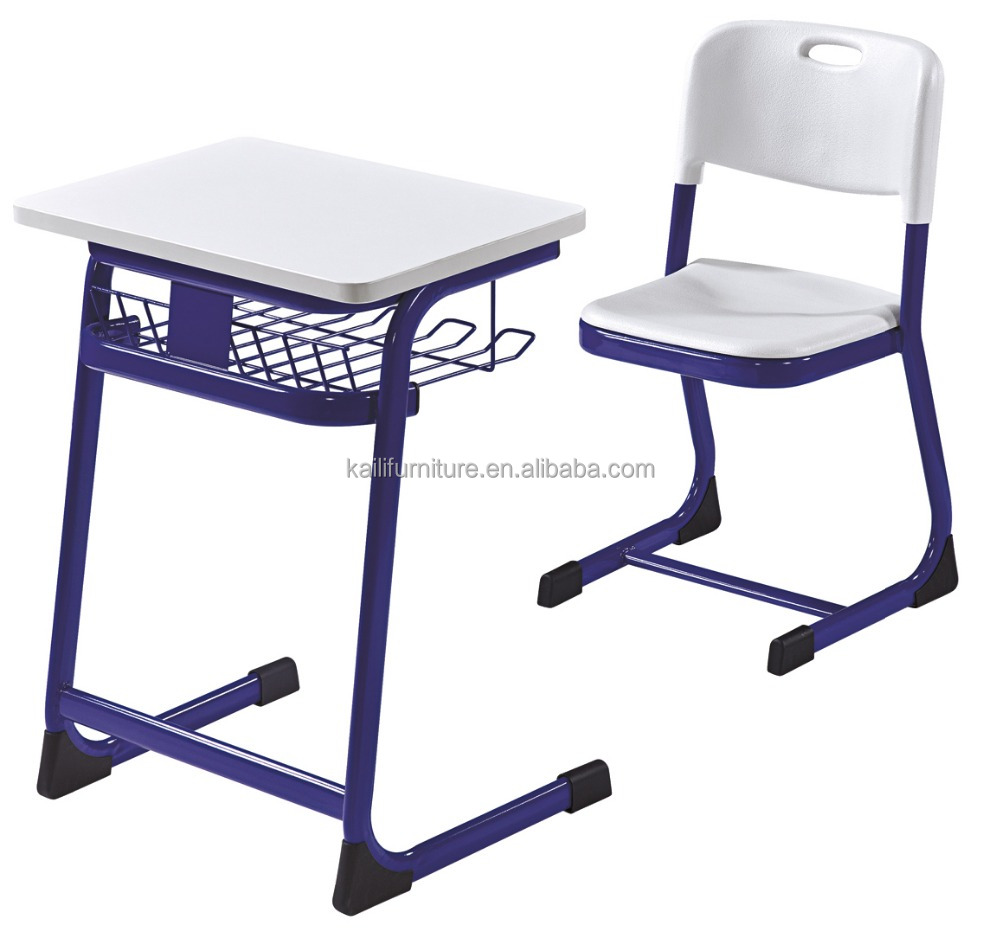 primary grades Woodtop Student Desk and Chair Classroom Desk Set