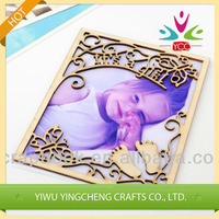 Exquisite art and craft, photo frame wood craft