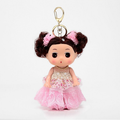 soft plastic cute ddung dolls toy keychain