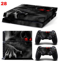 Factory Price PVC Vinyl Custom Skins For PS4 Stickers For Sony Playstation 4 Console & 2 Controller Decal