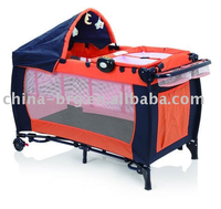 hospital folding baby bed parts