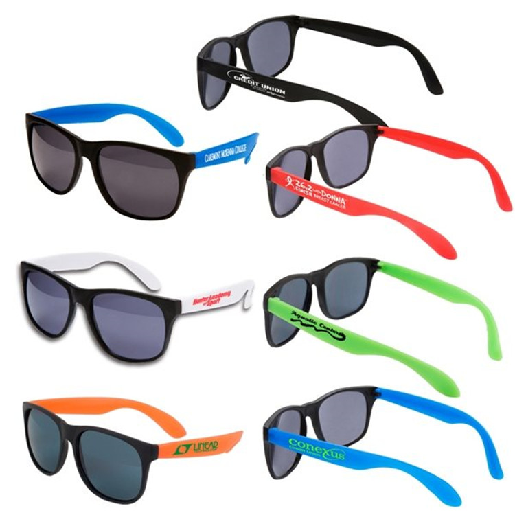 New Product Simple Design Custom plastic Sunglasses With Reasonable Price,decorative ray band eyeglasses