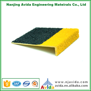 Abrasive Waterproof GRP External Stair Nosings