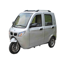 Chinese enclosed cabin 3 wheel petrol motorcyle for passanger