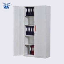 High quality commercial steel bookcase with metal door models