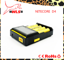 NITECORE D4 Li-ion/IMR/Ni-MH/LiFePO4/Ni-Cd Battery universal Smart Intelligent charger