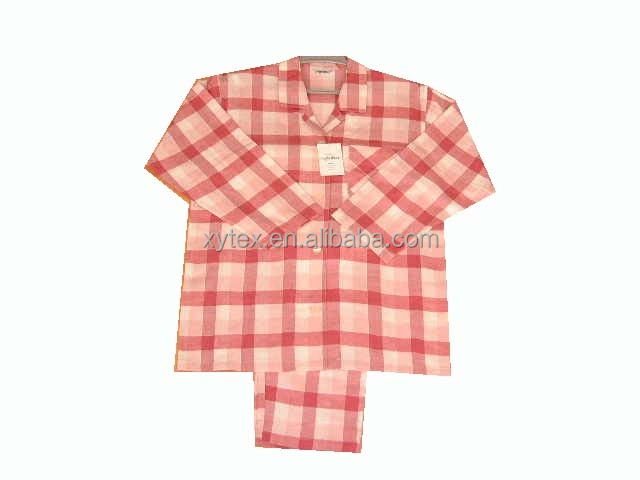 100% cotton pajamas with long sleeve