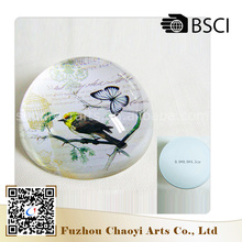 Factory Direct Supply hot sale custom crafts round glass paperweight