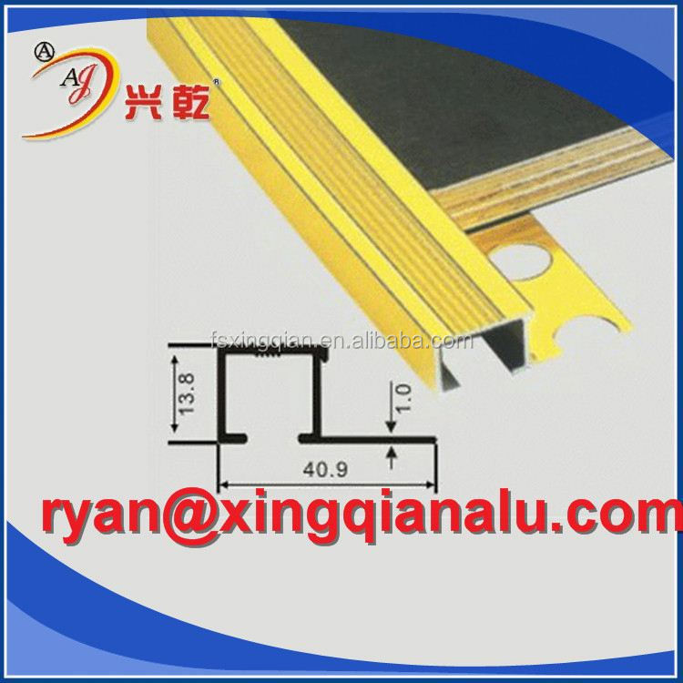 Brilliance flexible aluminum trim
