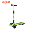 Flashing Foldable kids mini kick three wheel pro scooter sale