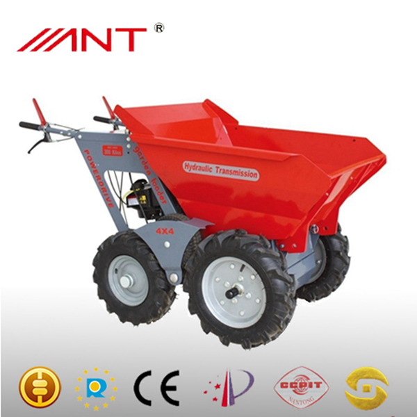 Golden manufactors muck truck 4x4 / palm oil harvester/mini tractor/power barrow 4x4 rated load 250kgs/garden loader