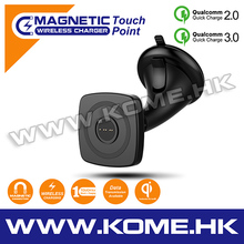 touch point quick charging magnetic wireless charger for car