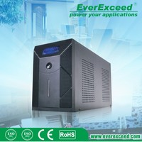 EverExceed 600W Numeric offline UPS Offline mini ups with battery 1 hour backup with ISO/ CE/ RoHS Certificate