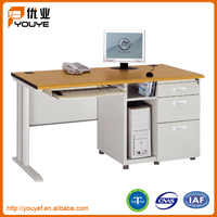 Multifunctional metal frame computer table with low price