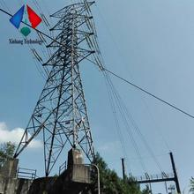 132kv power ohtl self-supporting 400kv suspension 48m transmission lines tower