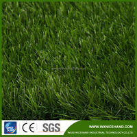 Garden used synthetic artificial grass rubber mat